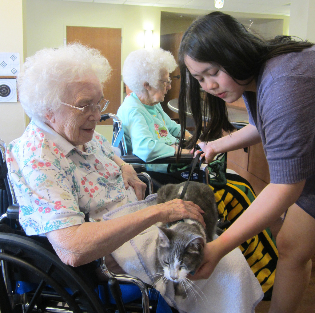 Elderly woman- Nursing home (4)
