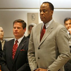 Attorney Joseph H. Low IV and Conrad Murray